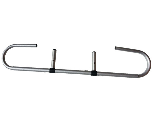 porta rollo de aluminio para camilla macrofine / palo piña