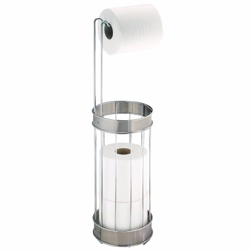 Porta rollo papel higienico acero inoxidable env o gratis for Accesorios para bano papel higienico
