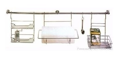 porta rollo simple para barral cocina colgar cromado oferta