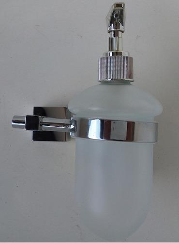 porta sabonete liquido saboneteira vidro  de fixar na parede
