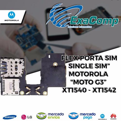 porta sim moto g3 1 chip vibrador xt1540 - xt154