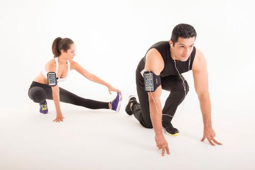 porta smartphone para brazo bodyfit bf-ptph5 negro