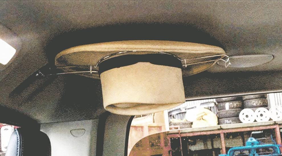 Porta Sombrero Metálico Para Todo Tipo De Vehículos. -   180.00 en ... 43f8afec788