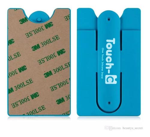 porta sube tarjetas dni para celular universal novedad