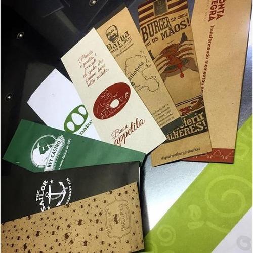 porta talheres saquinhos de papel personalizados c/3000 unds