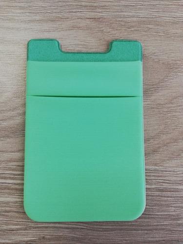 porta tarjeta para celular - tarjetero forro para teléfono