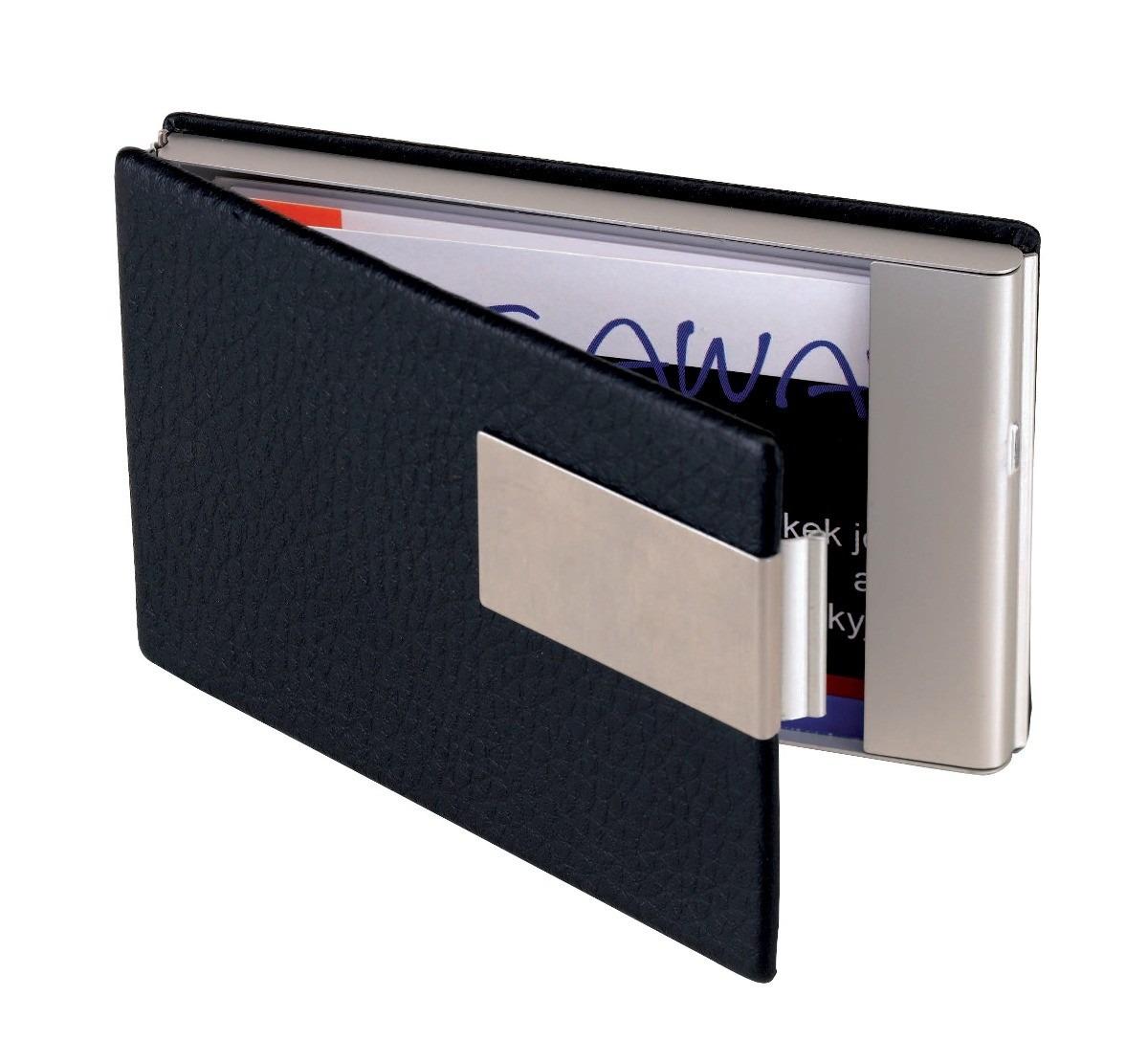 f033f02cfbf porta tarjetas de apertura vertical tarjetero metalico. Cargando zoom.