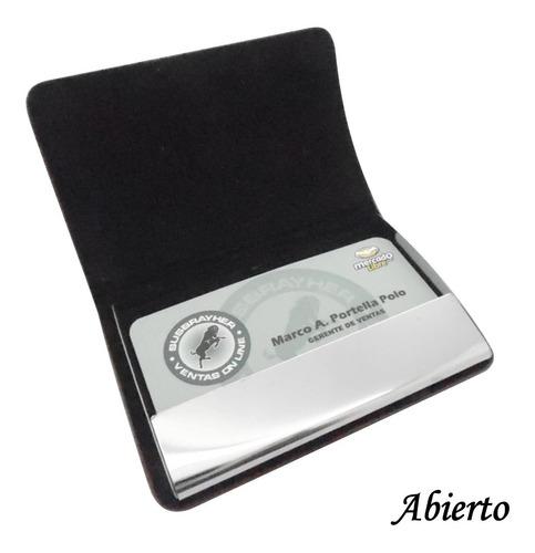 porta tarjetas ejecutivas personales lindo diseño d biocuero