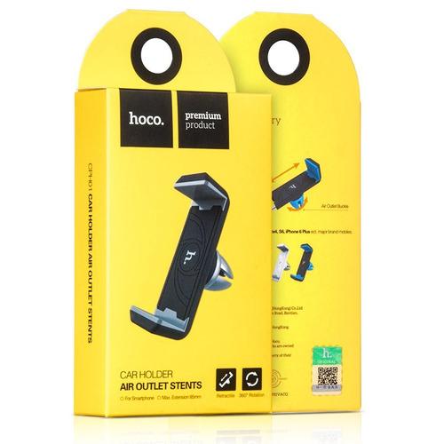 porta telefono para auto hoco negro/azul cph01