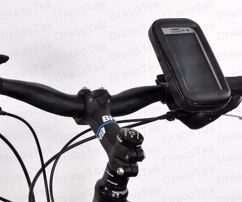 porta telefono para bicicleta