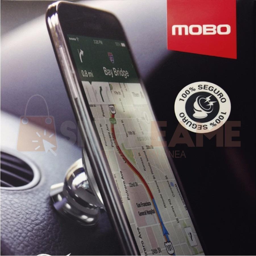 9e0ab6259d2 Porta Télefono Soporte Para Auto Tablero Mobo Iman Magnetico ...