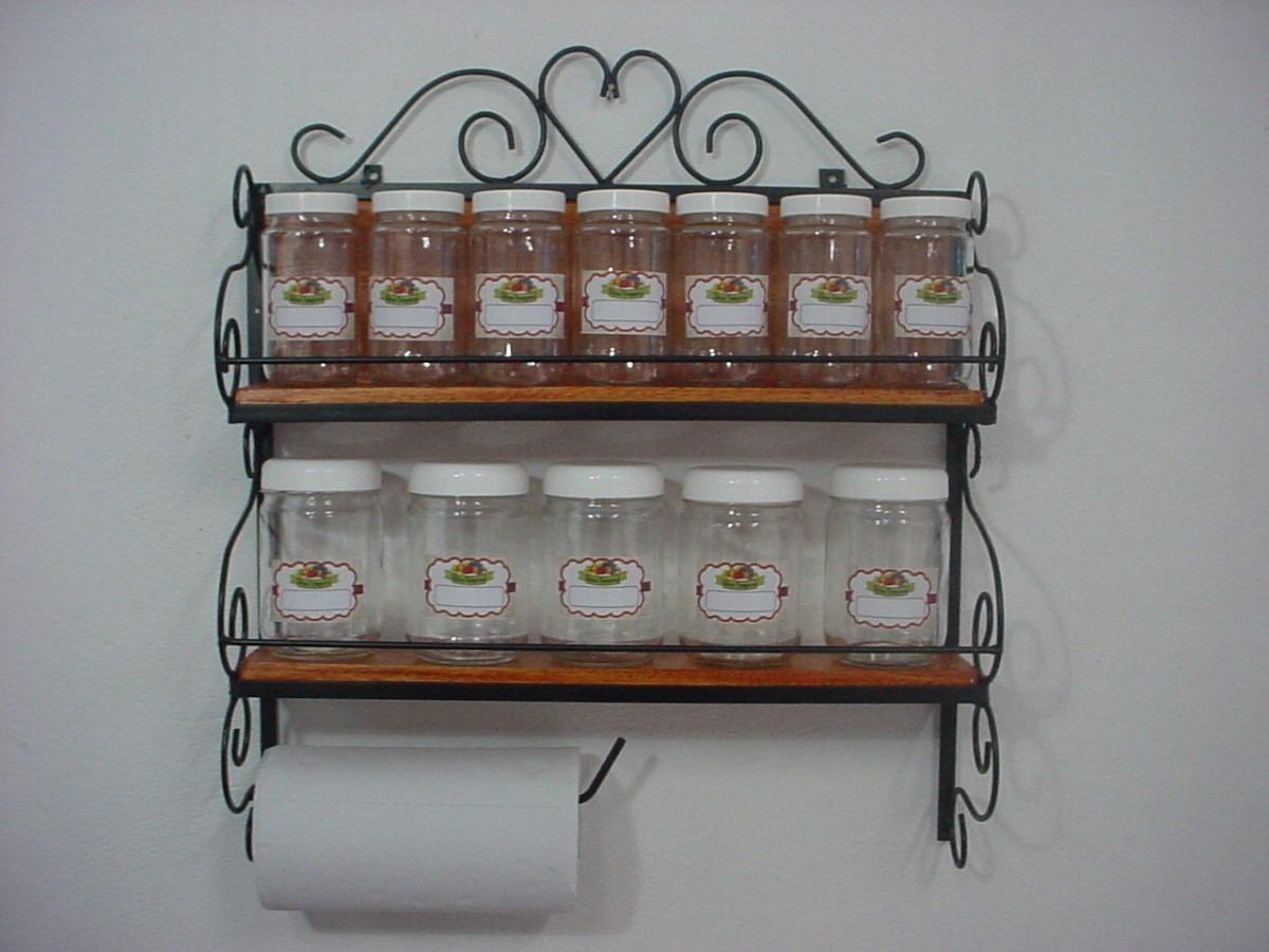 Porta temperos condimentos cereal colonial rustico com for O que e porta condimentos
