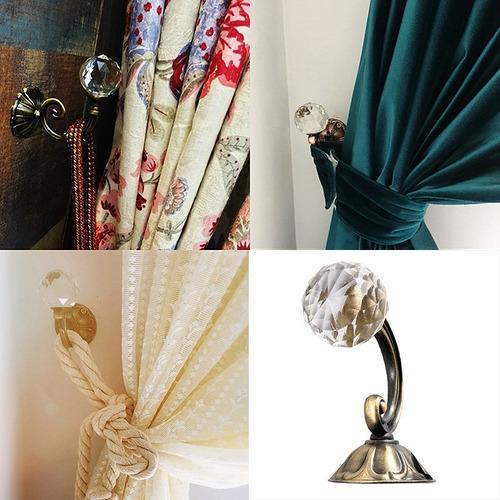 porta toalha banheiro duplo gancho de cristal decorativo suporte para bolsa roupas toalha acessórios prata