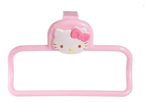porta toalla hello kitty