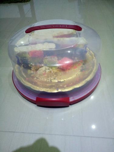 porta torta alta y baja (diametro 30 cm x alto 10 ó 15 cm)