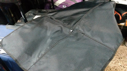 porta traje funda cubre guarda traje y zapatos color negro