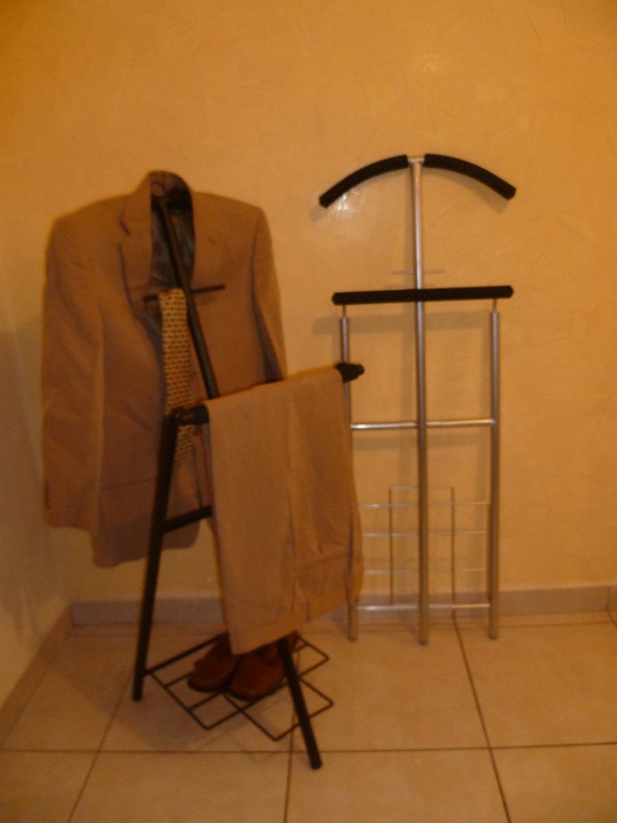 Porta traje y perchero en mercado libre for Modelos de percheros