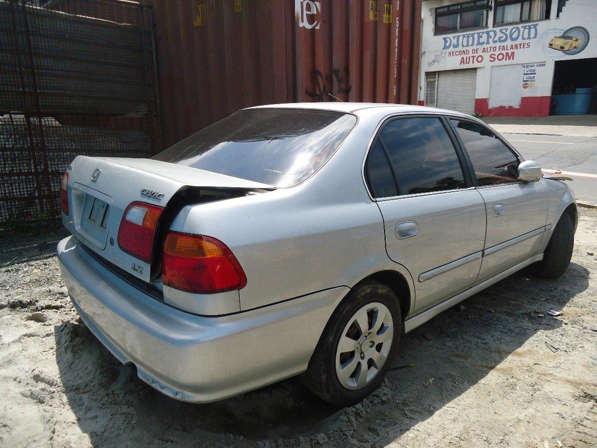 Porta Traseira Direita Honda Civic Lx 99 2000. Carregando Zoom.