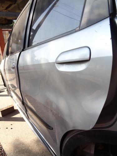 porta traseira esquerda new fit 2009 a 2013