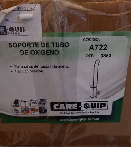 porta tubo de oxigeno para silla de ruedas balphin