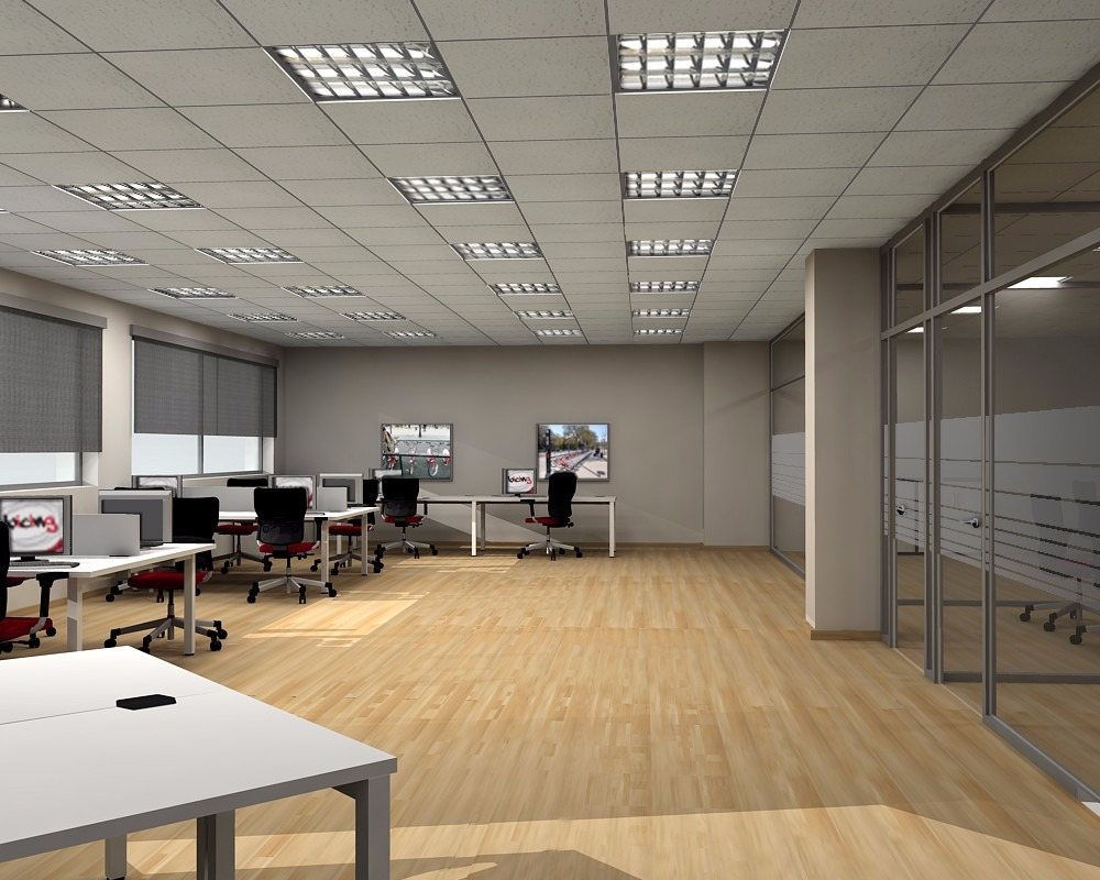 Porta tubos plafones de aluminio oficina luz lamparas for Plafones de luz de pared