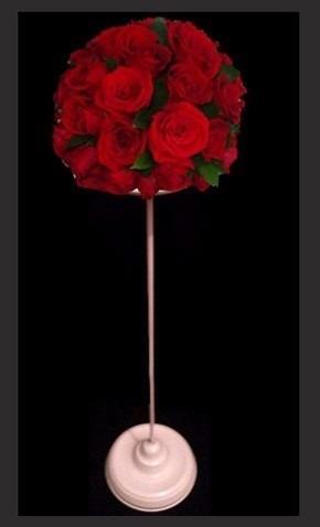 porta vela ,  floral