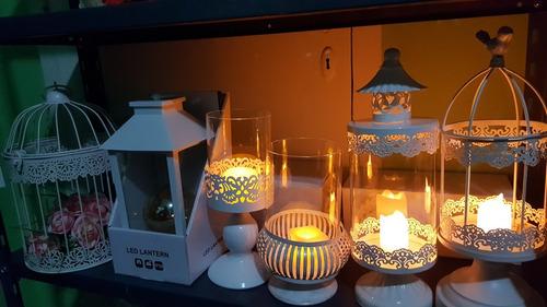 porta velas fanal velas decoracion