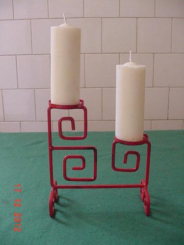 porta velas velas