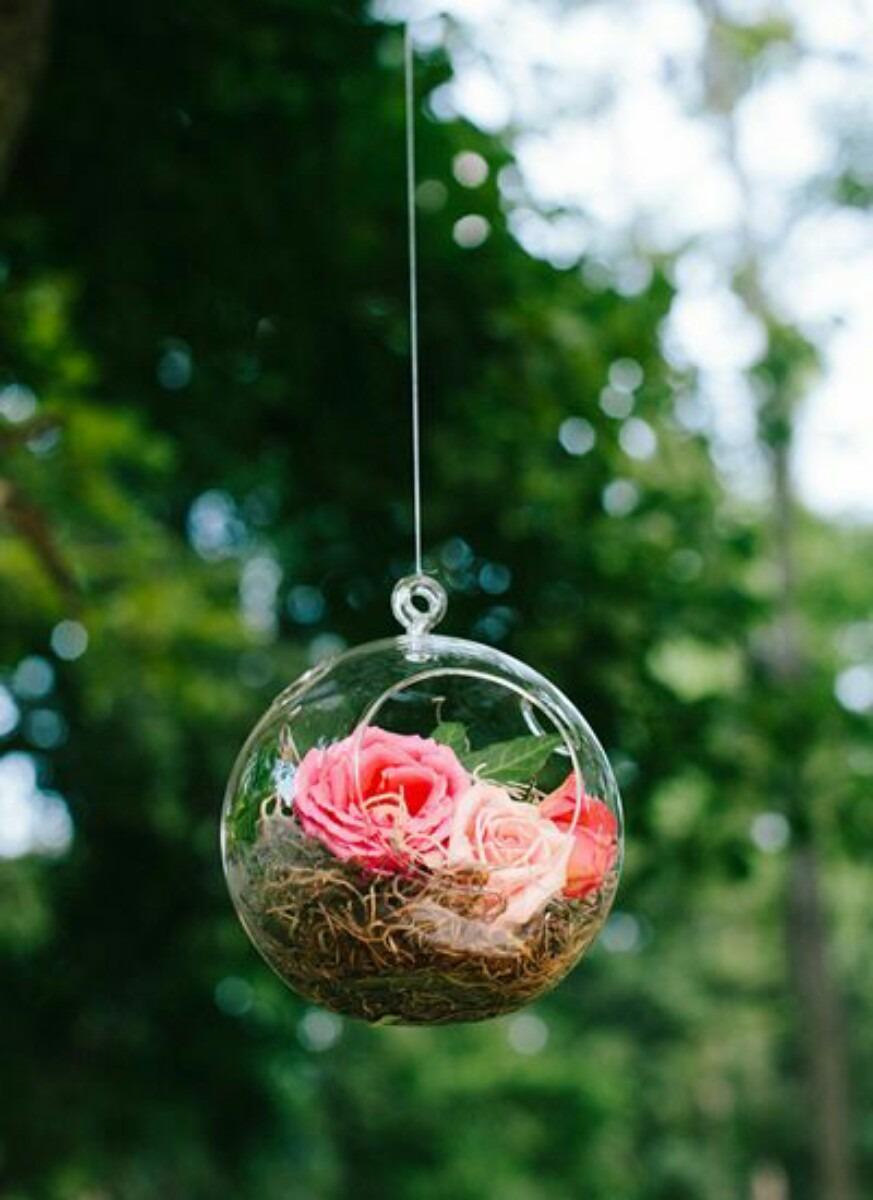 Porta velas y flores de cristal decoracion para bodas en mercado libre - Velas y portavelas ...