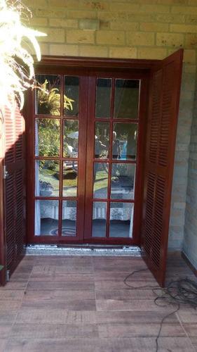 porta veneziana madeira maciça