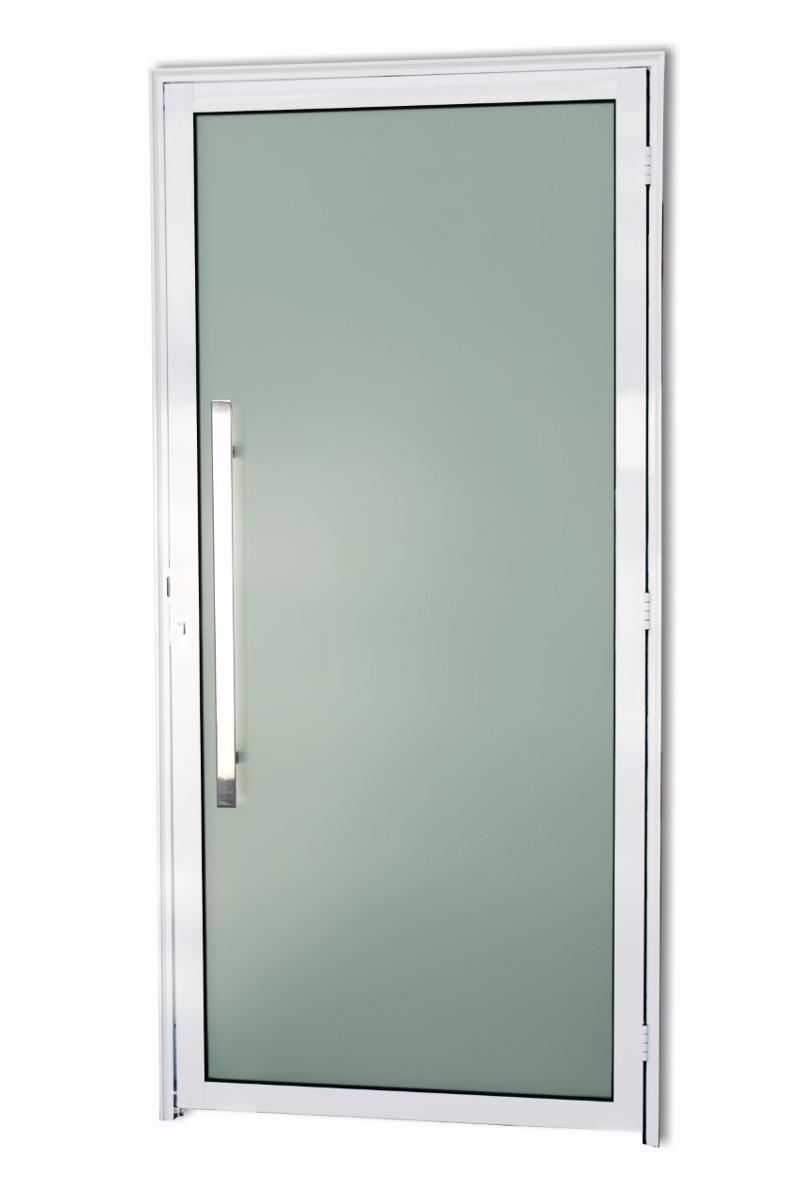 Porta Vidro Temperado Murano 2 10 X 1 00 Alum Nio Branco