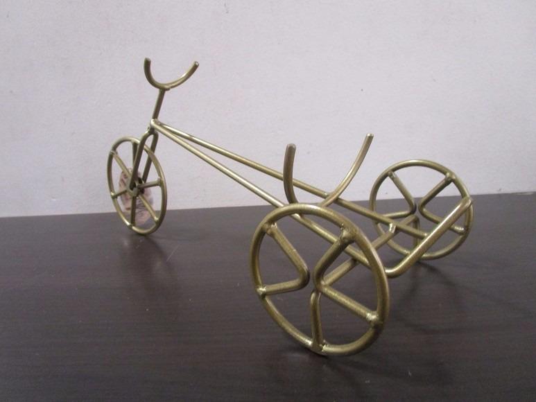 Porta vino bicicleta triciclo hierro decoracion vintage - Lopez del hierro decoracion ...