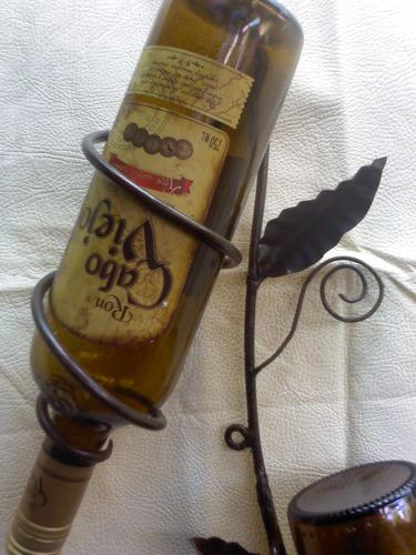 porta vinos al muro
