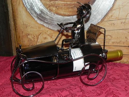 porta vinos en forma de carro nuevos