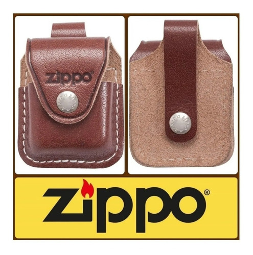 porta zippo cuero original envios