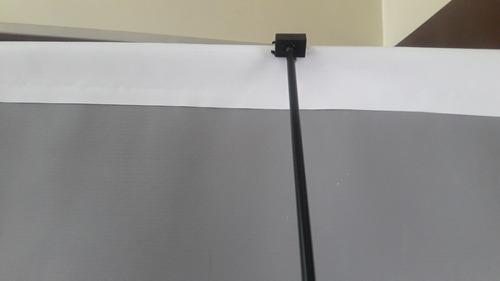 portabanner 90 x 1.90. simple tensor en acero bolso portante