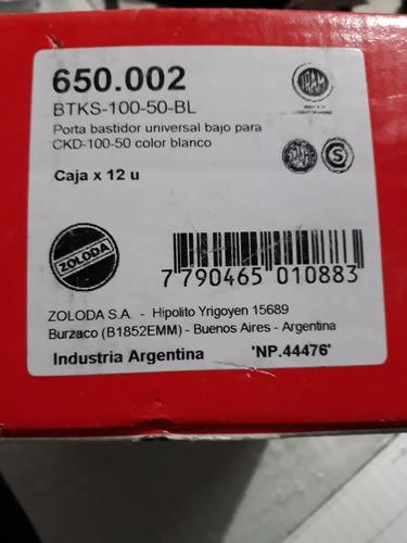 portabastidor btks10050 para zoloda ckd10050 x caja 12 uni