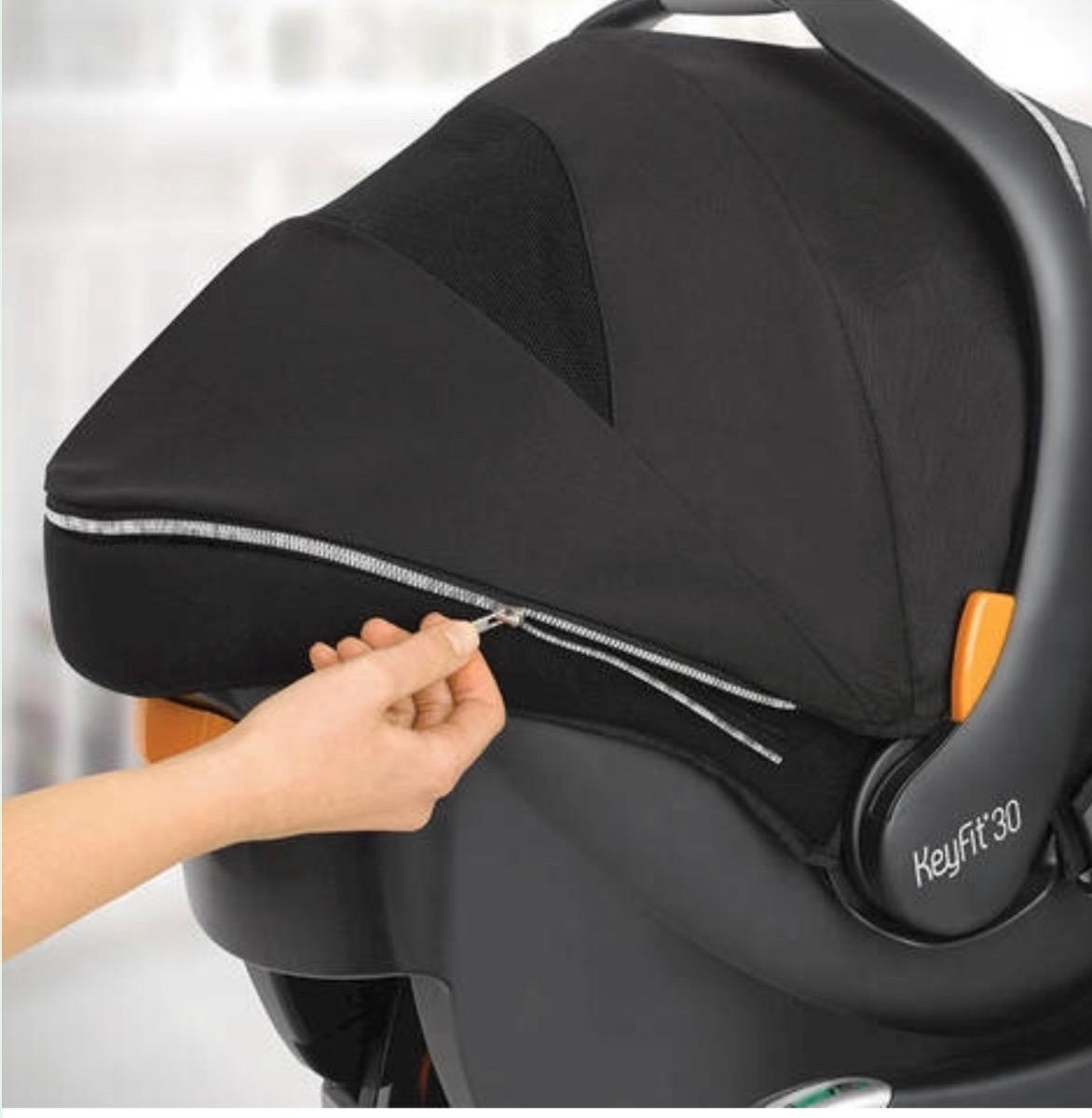 portabebe car seat chicco keyfit 30 zip manhattan negro. Cargando zoom. a82313bf7b6f5