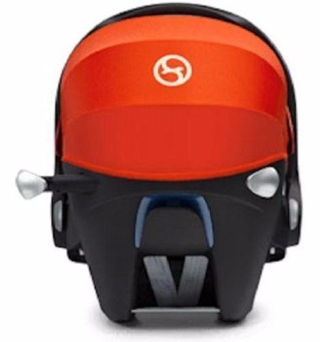 portabebe  cybex aton q con base para auto asiento bebe