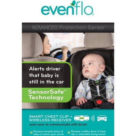 portabebe evenflo advanced recién nacido  sensor para carro