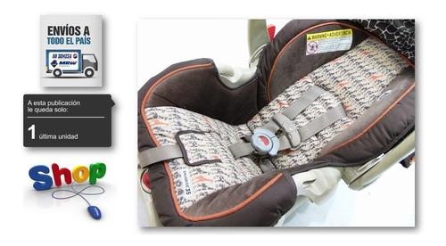 portabebe graco click connect con base para vehiculo