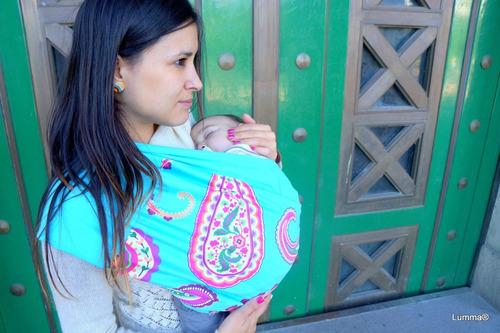portabebe pouch ergonomico, lumma crianza & apego
