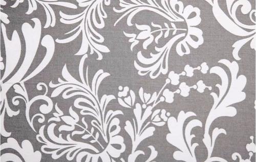 portabebés ajustable tela hotslings arabescos blanco gris