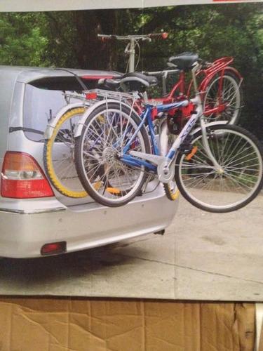 portabicicletas para quinta puerta, cajuela, para tres bicis