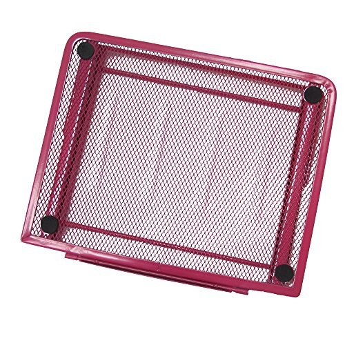 portable mesh laptop / tablet stand, mesa ventilada plega...