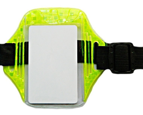 portacarnet brazo, brazalete porta carnet brazalete vertical