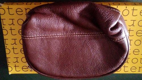 portacosméticos de cuero tenorio original