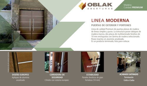 portada oblak madera moderna lustrada 1283 lateral de abrir