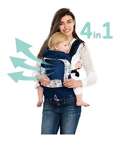 LILLEbaby Essentials 4-in-1 Original Baby Carrier Lily Pond