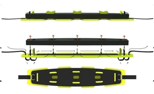 portaequipaje atlantikayak desmontable para kayak el jabali